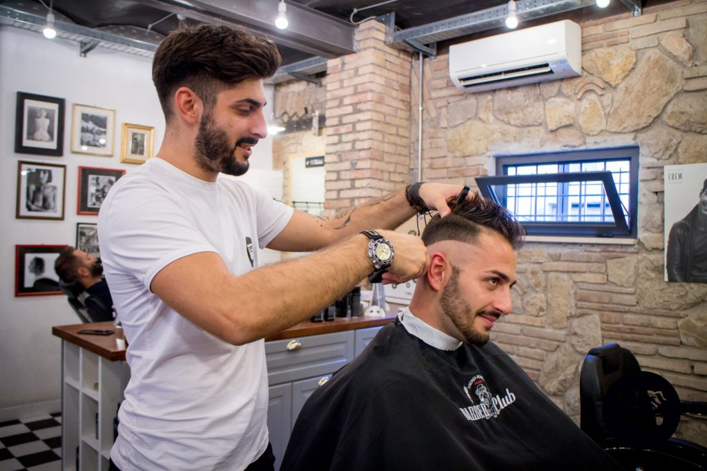 Parrucchiere uomo a Roma Parioli